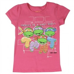 Heroes In A Half Shell Ninja Turtles Graphic T Shirt
