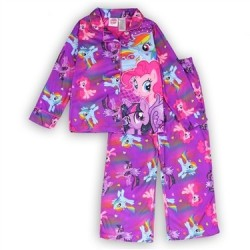 Rainbow Dash, Pinkie Pie, My Little Pony Girls Pajama Houston Kids Fashion Clothing Set