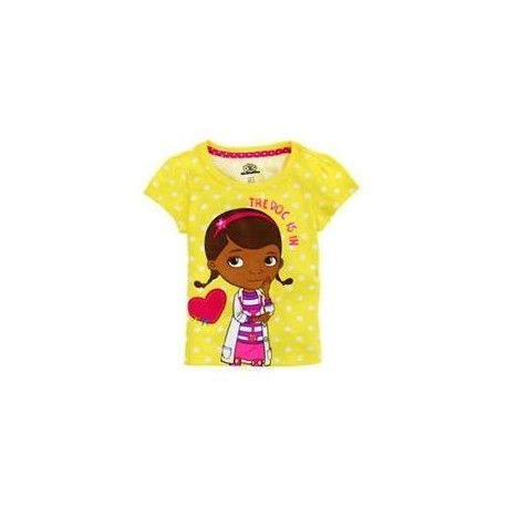 Disney Jr Doc McStuffin The Doc Is In Short Sleeve Shirt Houston Kids Fasahion Clothing