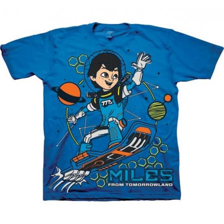 Disney Jr Miles Callisto Miles From Tomorrowland Toddler Blue T Shirt