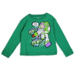 Disney Toy Story Buzz Lightyear To The Rescue Long Sleeve toddler Boys Shirt Houston Kids Fashion Clothing