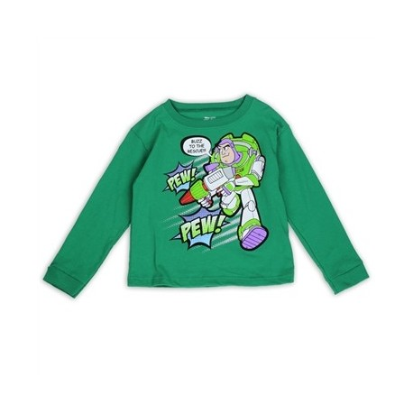 Ddisney Pixar Toy Story Buzz Lightyear To The Rescue Long Sleeve Shirt