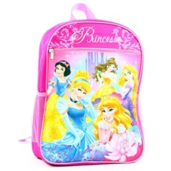 Disney Princess Zippered School Backpack