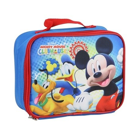 Disney Mickey Mouse Clubhouse Zippered Insulated Lunch Box