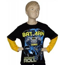 DC Comics Batman This Is How I Roll Long Sleeve Boys Shirt Houston Kids Fashion Clothing Store