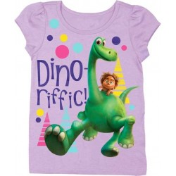 Disney Pixar Dino-Riffic The Good Dinosaur Girls Toddler T Shirt