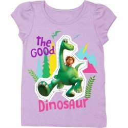 Disney The Good Dinosaur Toddler Girls Puff Tee