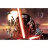 Star Wars The Force Awakens Rebal And Empire Group Poster