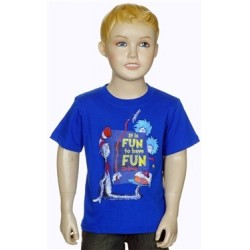 Dr Seuss The Cat In The Hat It's Fun To Have Fun With Thing 1 And Thing 2 T Shirt