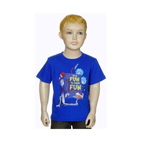Dr Seuss The Cat In The Hat It's Fun To Have Fun With Thing 1 And Thing 2 Infant Shirt Houston Kids Fashion Clothing