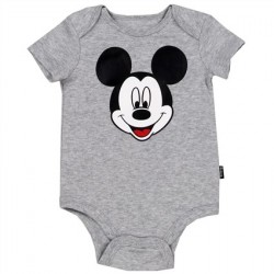 Disney Mickey Mouse Grey Newborn And Infant Creeper 041050MM-A