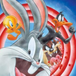 Bugs Bunny Daffy Duck Canvas Looney Tunes Wall Art Houston Kids Fashion Clothing
