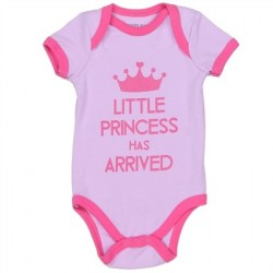 Weeplay The Little Princess Has Arrived Lavender Onesie Houston Kids Fashion Clothing