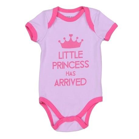 Weeplay The Little Princess Has Arrived Lavender Onesie