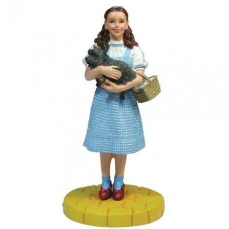 Wizard of Oz Dorthy and Toto On The Yellow Brick Road Mini Figurine