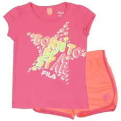 Fila Born To Be A Star Girls Athletic Short Set