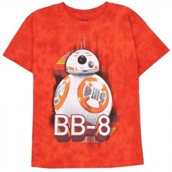 BB8 Star Wars The Force Awakens Boys Graphic T Shirt