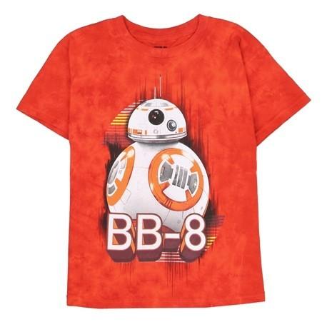BB8 Star Wars The Force Awakens Boys Graphic T Shirt