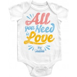 The Beatles All you Need Is Love Infant Onesie
