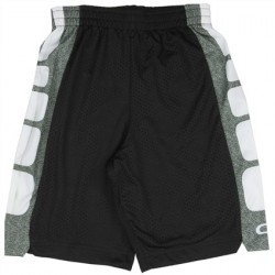 CB Sports Black and White Athletic Boys Shorts