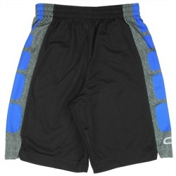 CB Sports Black and Blue Athletic Shorts