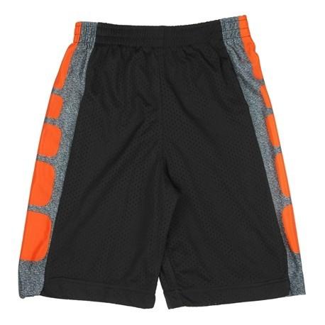CB Sports Black and Orange Boys Athletic Shorts 5TH03NJ