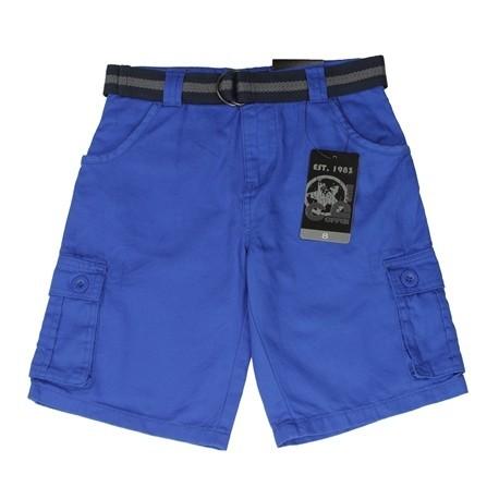Copper Denim Blue Boys Twill Denim Cargo Pants 4E3267F