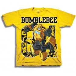 Transformers Bumblebee Yellow Short Sleeve Boys Shirt Houston Kids Fashion Clothing Store