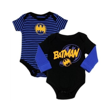DC Comics Batman 2 Piece Onesie Set Houston Kids Fashion Clothing Store The Woodlands Texas