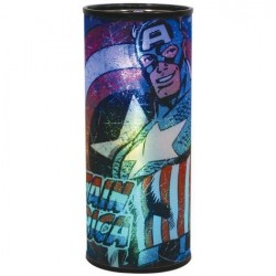 Marvel Comics Captain America Round Hanging Nightlight Houston Kids Fashion Clothing Store