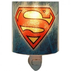 DC Comics Superman The Man of Steel Acrylic Nightlight Houston Kids Fashion Clothing Store