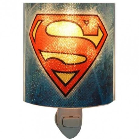 DC Comics Superman The Man of Steel Acrylic Nightlight