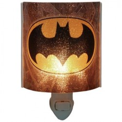 DC Comics Batman The Dark Knight Logo Acrylic Nightlight Houston Kids Fashion Clothing Store