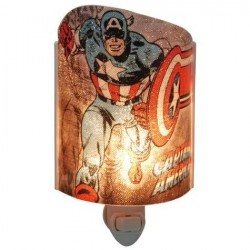 Marvel Comics Captain America Acrylic Nightlight Houston Kids Fashion Clothing Store