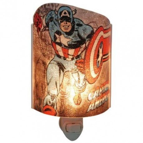 Marvel Comics Captain America Acrylic Nightlight Houston Kids Fashion Clothing Store