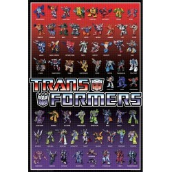 Transformers Regular Cast Wall Poster