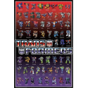 Transformers Regular Cast Wall Poster Perfect For Any Wall