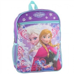 Disney Frozen Anna and Elsa Large School Backpack