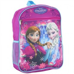 Disney Frozen Anna and Elsa Fuchsia Large School Backpack