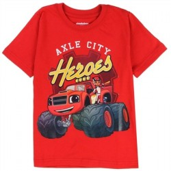 Nick Jr Blaze And The Monster Machines Axle City Toddler Shirt Houston Kids Fashion Clothing Store