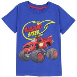 Nick Jr Blaze And The Monster Machines Blazing Speed Toddler Boys Shirt Houston Kids Fashion Clothing Store