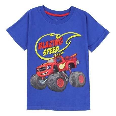 Nick Jr Blaze And The Monster Machines Blazing Speed Toddler Boys T Shirt