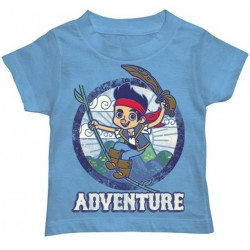 Disney Jake And The Neverland Pirates Swinging Adventure Toddler Shirt