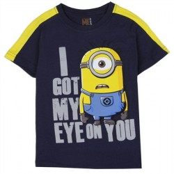 Despicable Me I Got My Eye On You Navy Blue Toddler Shirt Houston Kids Fashion Clothing Store