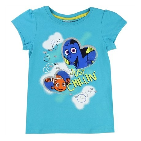 Disney Pixar Finding Dory Just Chillin Dory and Nemo Toddler Shirt