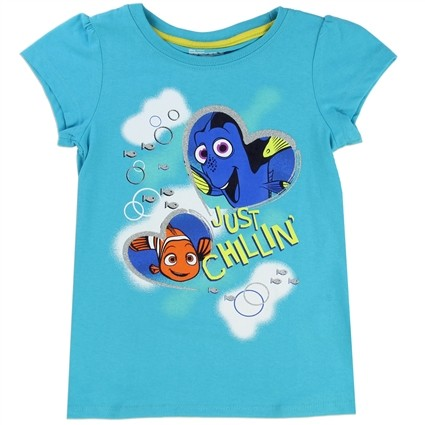 Finding Dory Just Chillin Toddler Girls Shirt Free Shipping