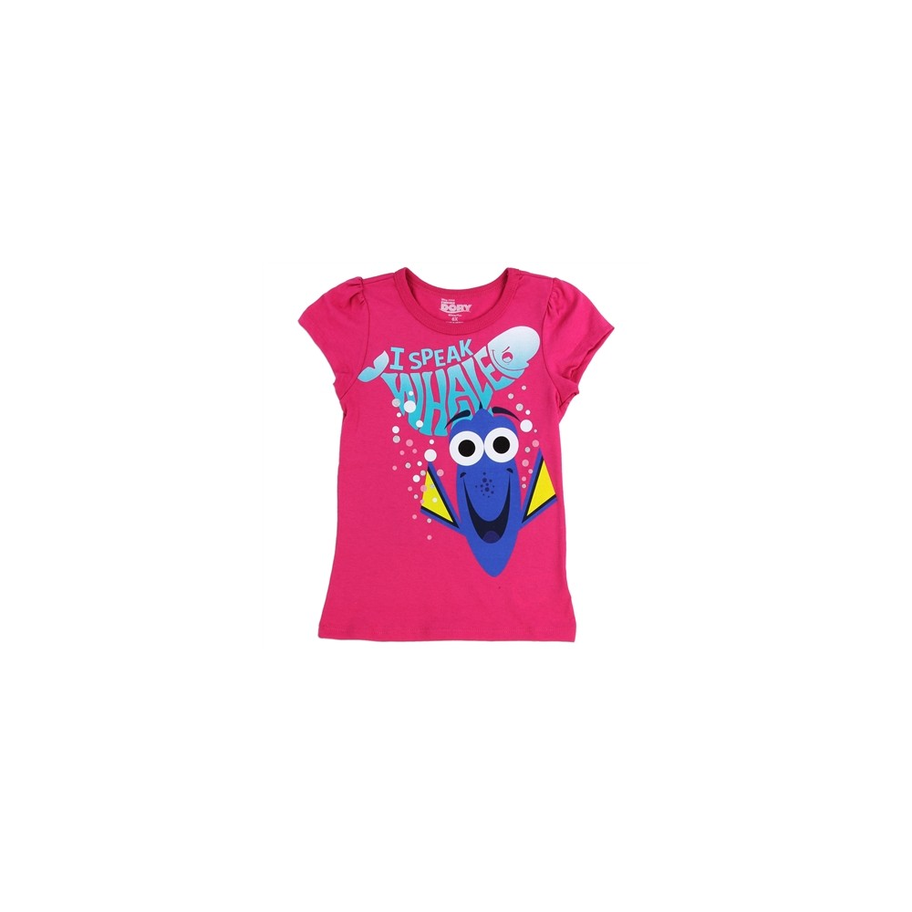 Finding dory i speake whale toddler shirt free shipping for Pixar logo t shirt