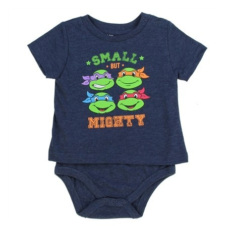 Nick Jr Teenage Mutant Ninja Turtles Small But Mighty T Shirt Onesie