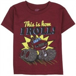 Nick Jr Blaze And The Monster Machines This Is How I Roll Toddler T Shirt