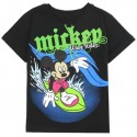 Disney Mickey Mouse Wave Rider Black Toddler Shirt